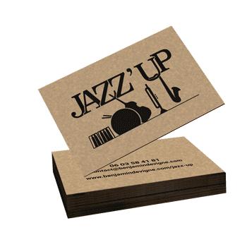Carte de visite Jazzup