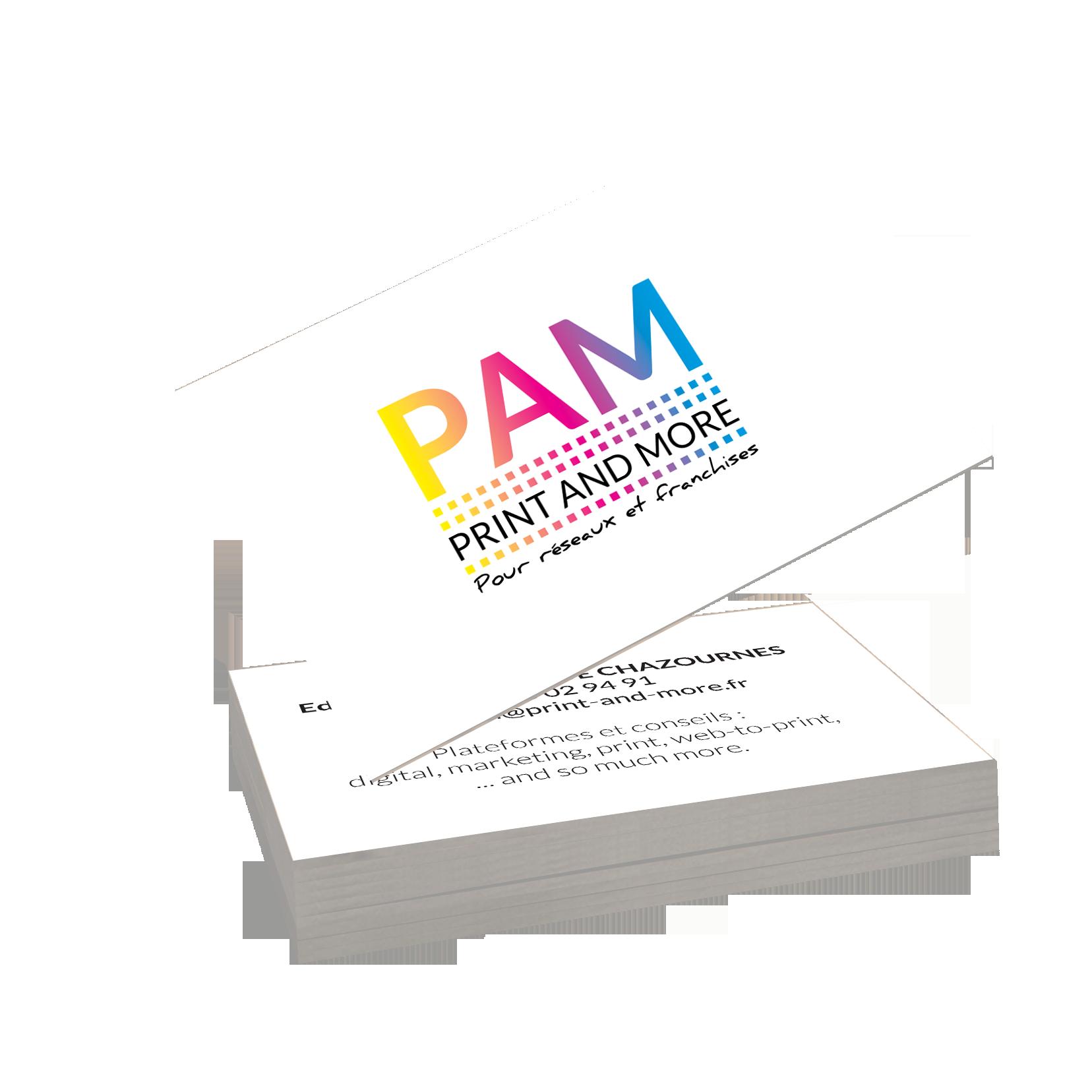 Carte de visite PAM mises en situation