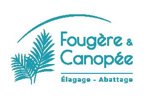 Logo Fougère er Canopée, entreprise d'élagage et abattage