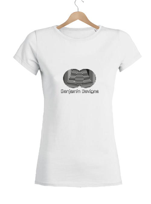 T-shirt logoté Benjamin Devigne