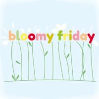 Illustration jours de la semaine - vendredi-fleurs